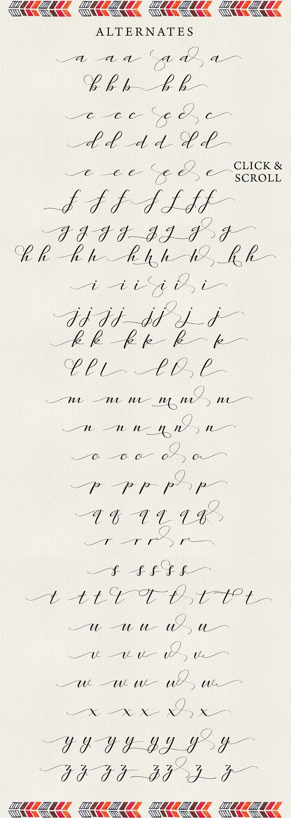 rambies handwritten calligraphy script fonts creative market