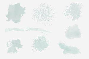Paint splatter design vector