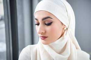 Young muslim woman
