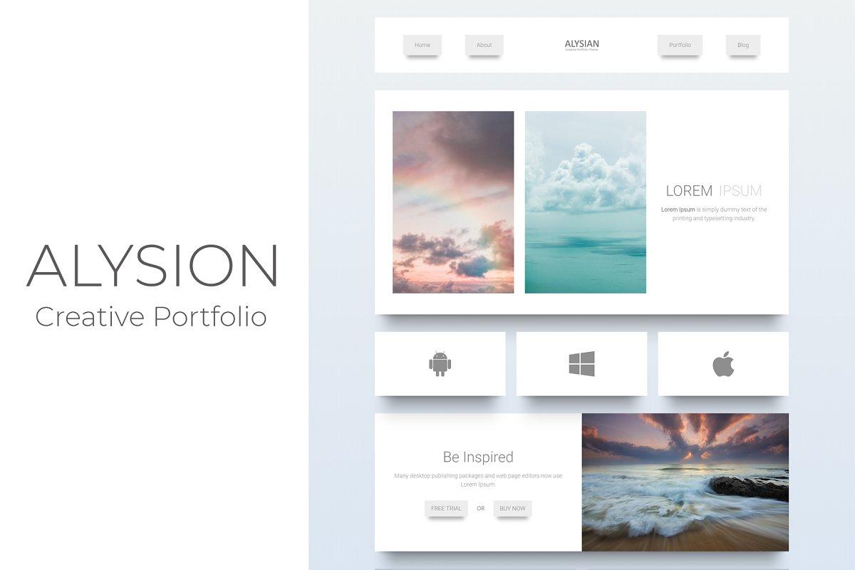 Alysion - Creative Portfolio