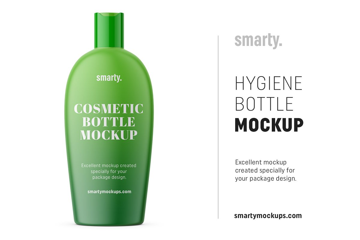 Hygiene bottle mockup in Product Mockups - product preview 8