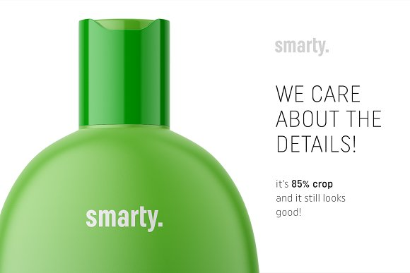 Hygiene bottle mockup in Product Mockups - product preview 3