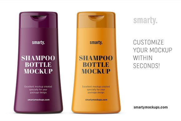 Hygiene bottle mockup in Product Mockups - product preview 2