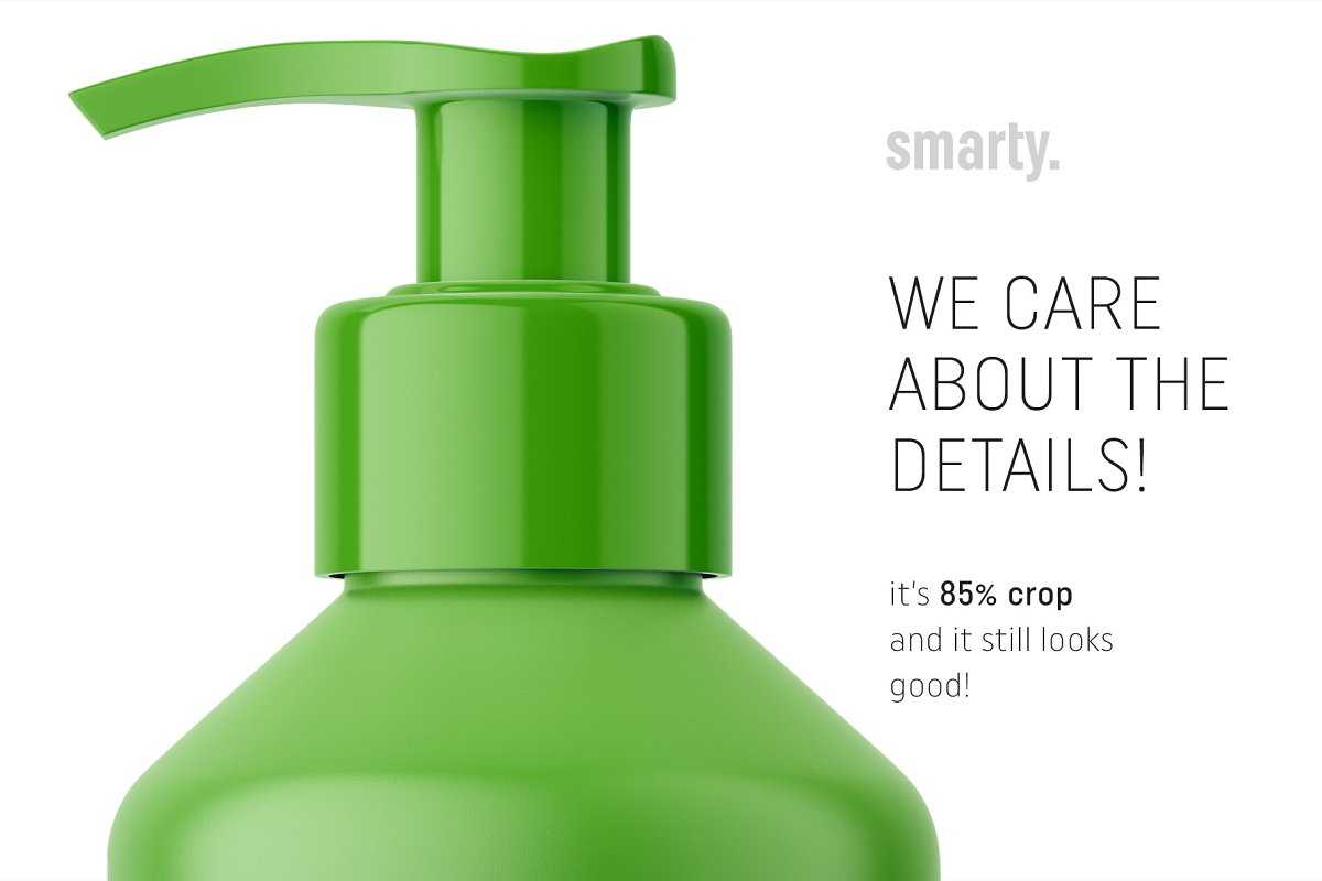 Pharmacy pump bottle mockup in Product Mockups - product preview 3