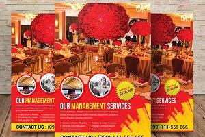 Party & Event Management Flyer