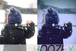 Hoozey Photoshop Actions Set