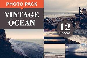 VINTAGE OCEAN (12 Premium Photos)