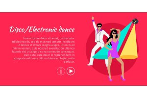 Disco and Electronic Dance Web
