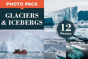 GLACIERS & ICEBERGS (12 Photos)