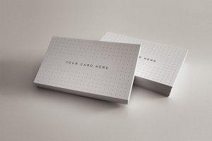 4 Business Card Mock-ups