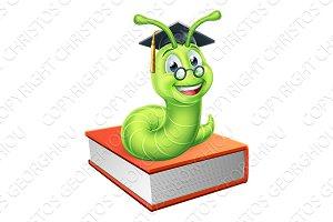 Graduate Caterpillar Bookworm on