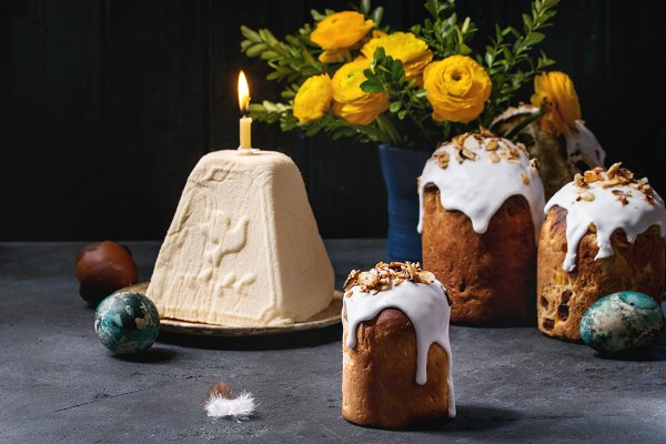 Easter cake Kulich