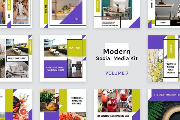 Modern Social Media Kit (Vol. 7)