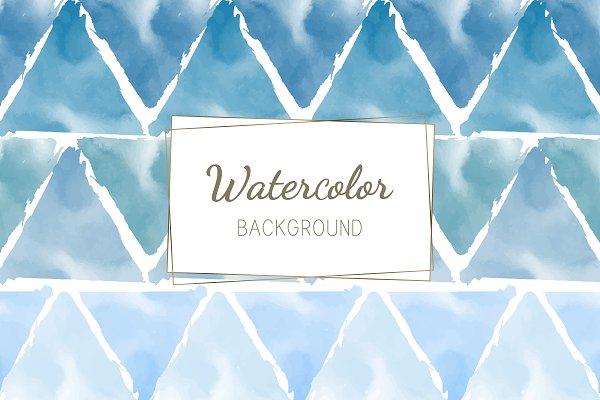 Pastel Blue Green Watercolor Pre Designed Illustrator Graphics Creative Market