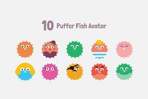 Puffer Fish Avatars