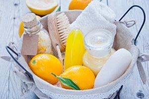 Basket Lemon Spa