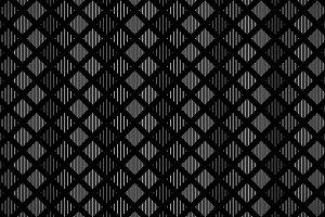 Black and gray geometric pattern