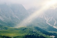 Val Gardena mountains valley by  in Nature