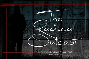 Radical Outcast - Signature Font