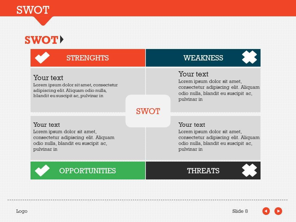 Swot pack 1 powerpoint template presentation templates creative swot pack 1 powerpoint template presentation templates creative market toneelgroepblik Choice Image