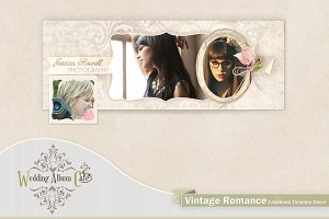 Vintage Romance Facebook Timeline