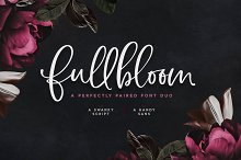 Fullbloom Font Duo | SALE