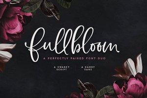 Fullbloom Font Duo