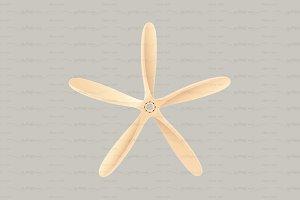 ♥ vector propeller airscrew