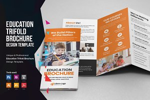 Education School Trifold Brochure v1