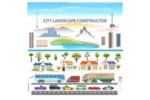 Landscape constructor set