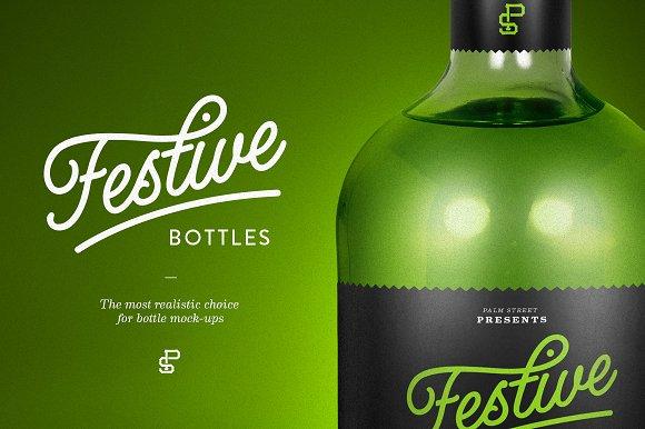 Download Tequila Bottle Mock-Up