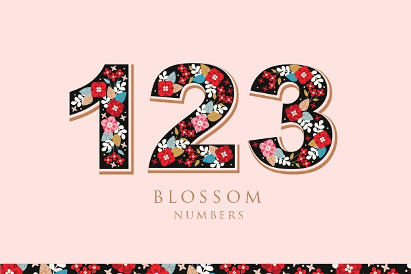 Graphic Objects: Werlang Paper - Blossom Numbers