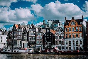 Wonderful architecture of Amsterdam