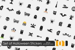 101 Halloween stickers