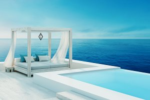 Beach lounge - ocean villa seaside &