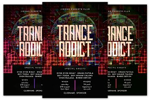 Trance Addict Flyer