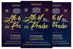 Life of Praise Church Flyer