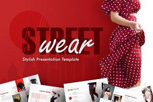 Street Wear - Stylish PowerPoint