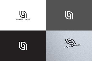 Letter B logo design