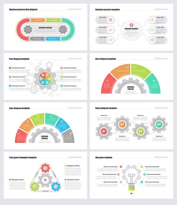 Gears Powerpoint Templates Presentation Templates Creative Market