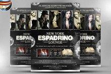 Espadrino Lounge Flyer Template