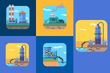 Ecology illustration Concepts