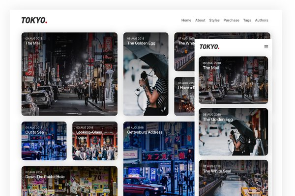Ghost Themes ~ Creative Market