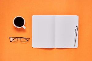 Black screen notebook blank