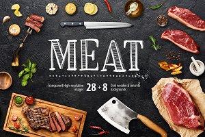 Food Mock Up Creator - Meat