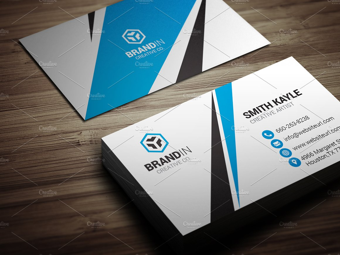 Creative business card template business card templates creative creative business card template business card templates creative market flashek Images
