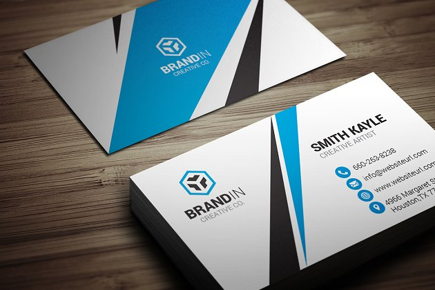 Modern business card template business card templates creative creative business card template fbccfo Image collections