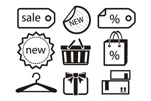 Collection of Shopping Icons