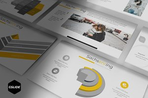 Sachsenring - Google Slides Template