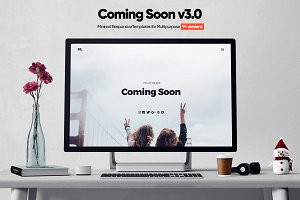 Coming Soon Minimal Template